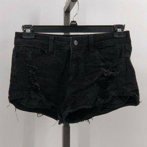 Kancan Signature Mid Rise Stretch Cuffed shorts 28
